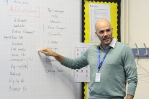Looking for improvement and challenges through teaching