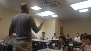 Teaching leadership in the classroom with international students