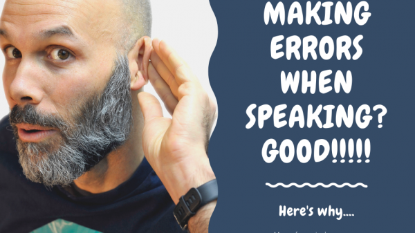 Practicing and improving your speaking
