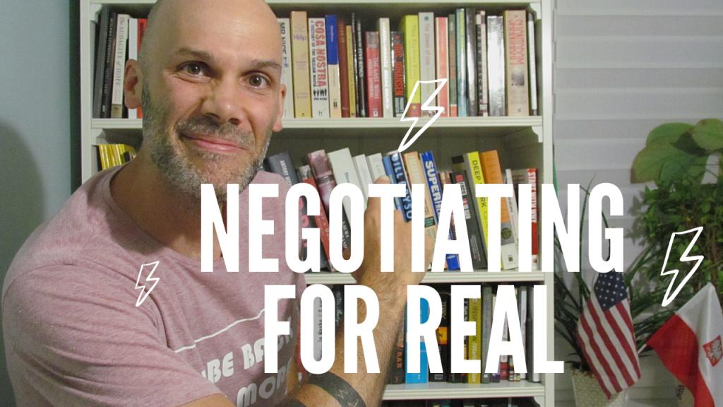 Negotiating for real ESL