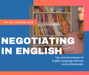 negotiating in English