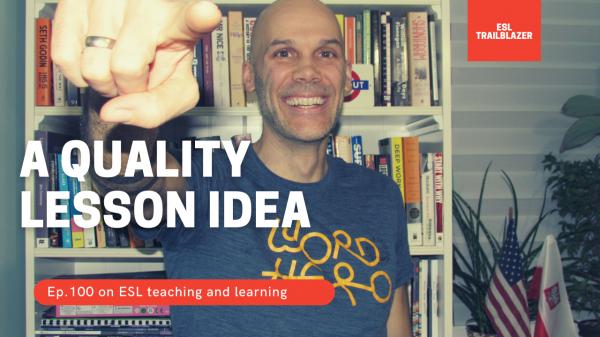 ESL lesson idea - Quality